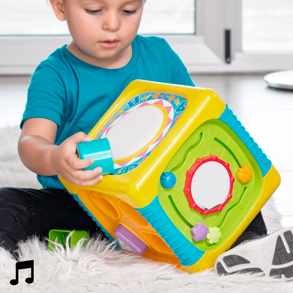 Aktivnostna Kocka za Dojenčke z Lučkami in Zvoki