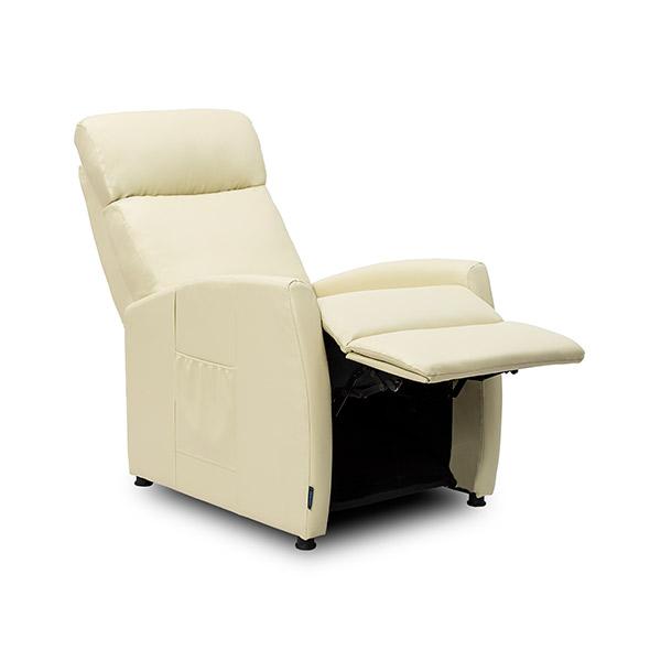 Sillón Relax Masajeador Compact Push Back Beige Cecorelax 6181 (1)