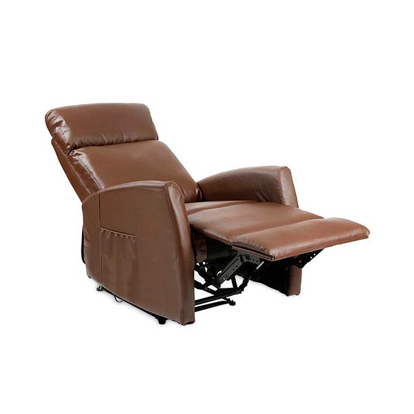 Sillón Relax Masajeador Compact Push Back Marrón Cecorelax 6182 (1)