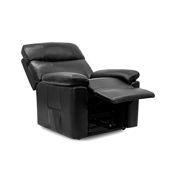 Sillón Relax Masajeador Levantapersonas Negro Cecorelax 6118 (1)