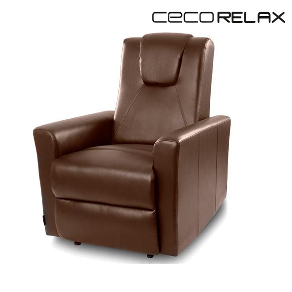 Sillón Relax Masajeador Marrón Cecorelax 6150