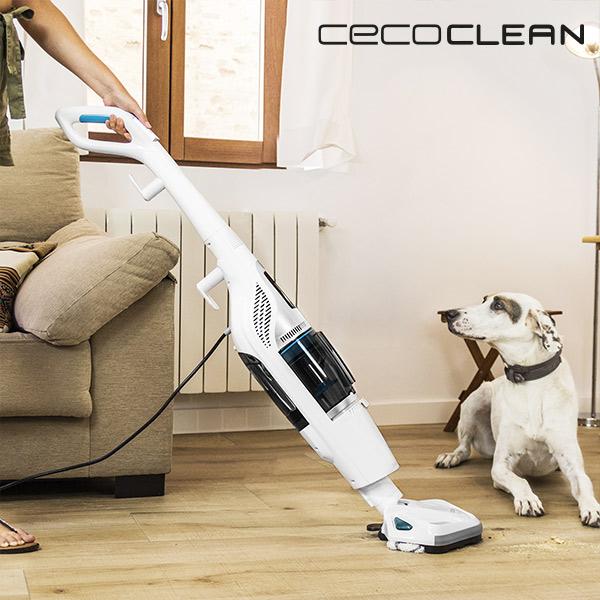 Aspirador Ciclónico y Vaporeta Cecoclean Steam & Clean 5055 1,2 L 1550W Blanco