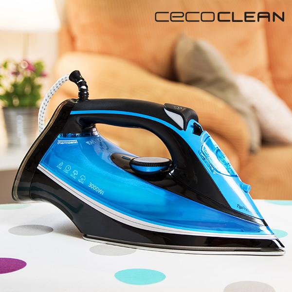 Plancha de Vapor Cecoclean Titanium 520 5037 0,38 L 230 G/MIN 3000W