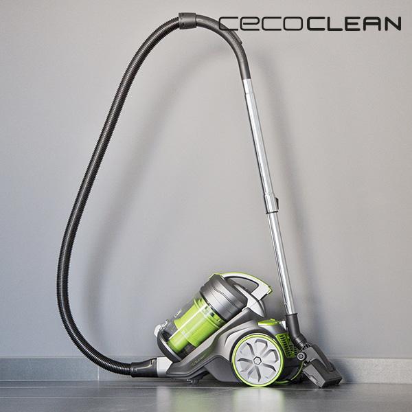 Aspirador Multiciclónico Cecoclean 5017 3,5 L 850W Gris Verde