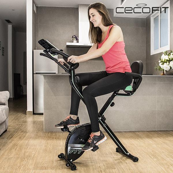 Bicicleta Estática Magnética Plegable Cecofit Pro 7016