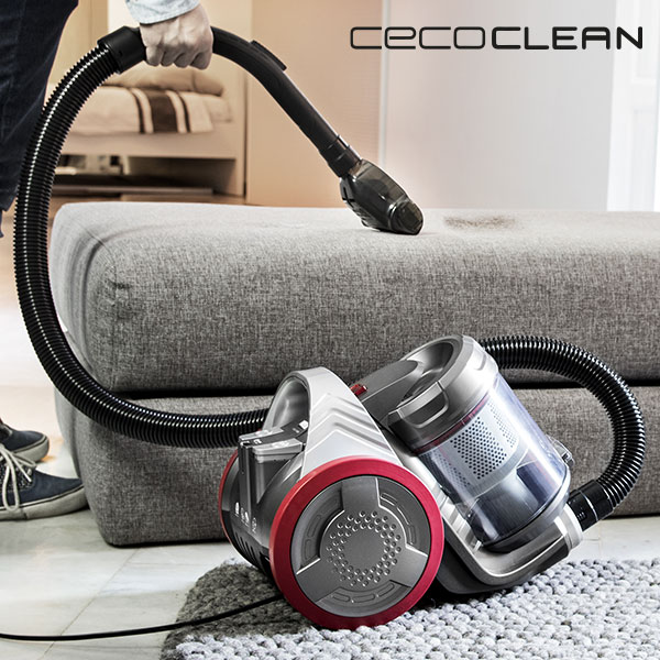 Aspirador Multiciclónico Cecoclean Eco Extreme 3000 5068 3,5 L 700W Gris Rojo