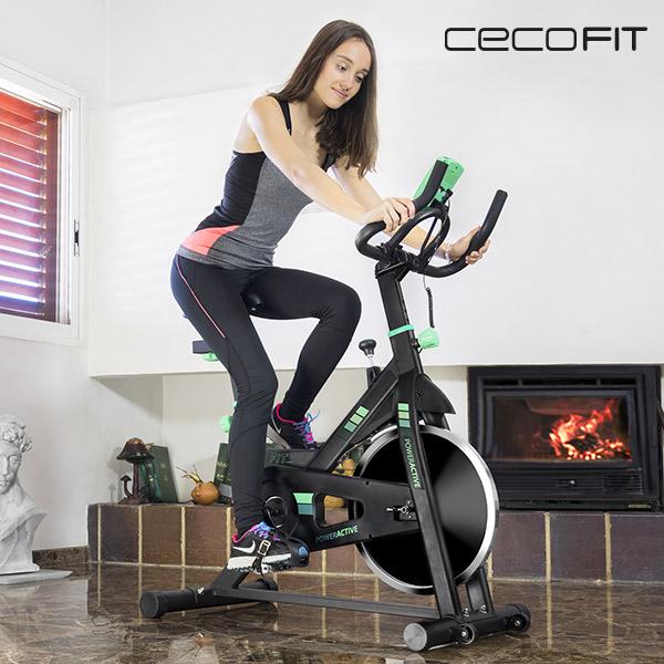 Bicicleta Estática Cecofit Power Active 7018