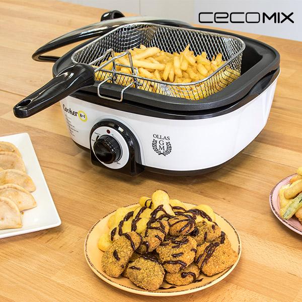 Robot de Cocina Cecomix 8 en 1 4033 5 L 1300W