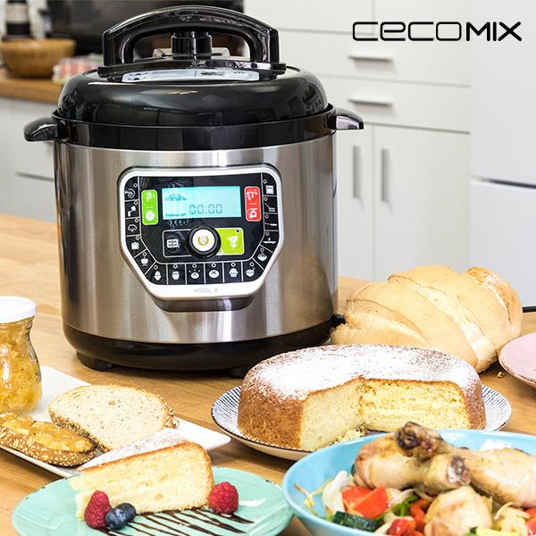 Robot de Cocina Cecomix G Deluxe 2010 6 L 1000W