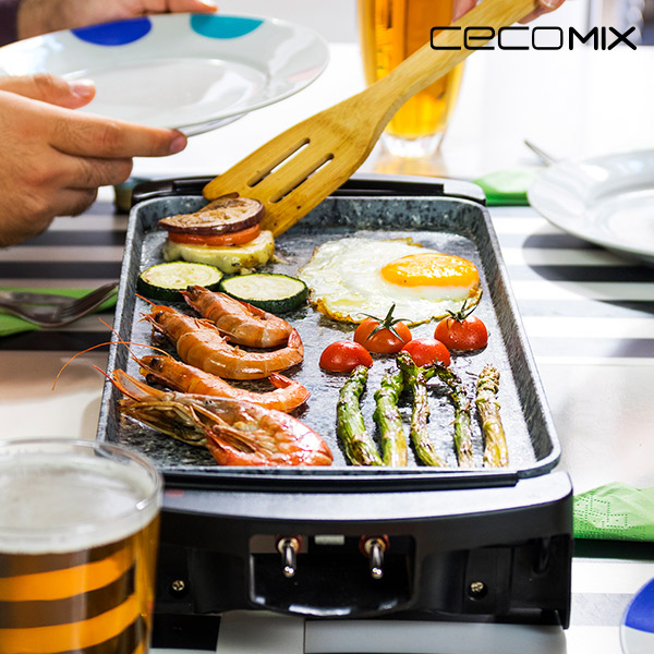 Plancha de Cocina Cecomix Rock 2000 3045 1600W