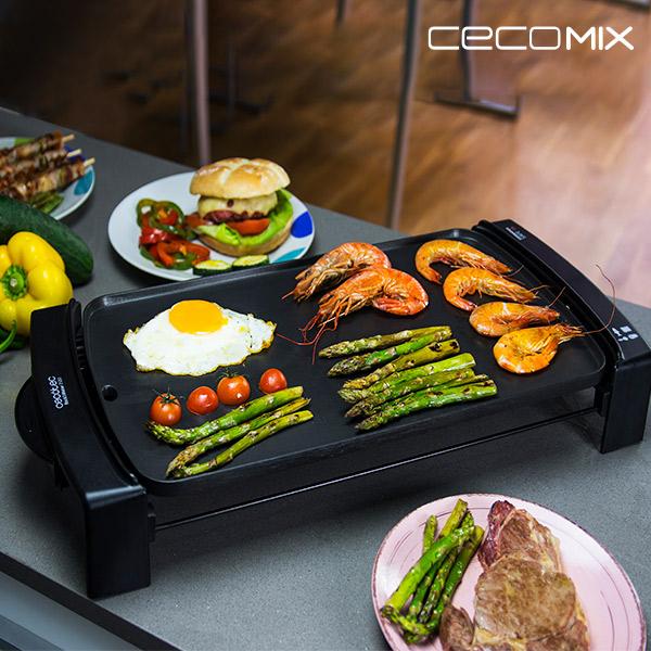 Plancha de Cocina Cecomix Black 3046 2150W