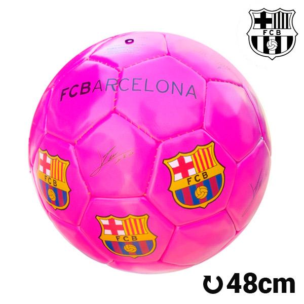 Balón de Fútbol Mediano Rosa F.C. Barcelona