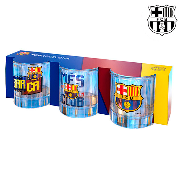 Vasos de Chupito F.C. Barcelona (pack de 3)