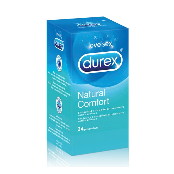 Preservativi Natural Plus Durex (24 Unit�)