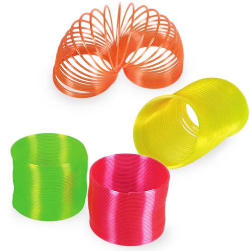 Plastična Spirala Neon - Roza