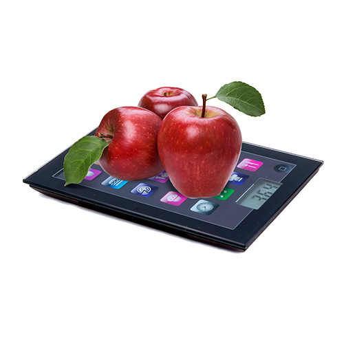 Báscula Digital de Cocina Bravissima Kitchen iPad 5 kg