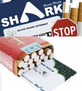 Kartica Blove Shark za Zmanjšanje Stranskih Učinkov Kajenja
