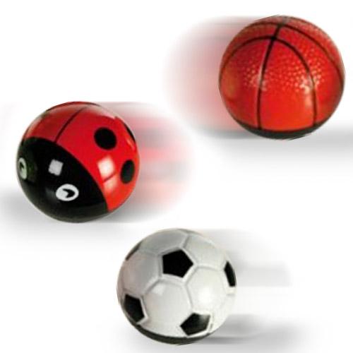 Ball and Bug Kovinska Krogla na Vzmet - Teniška žogica