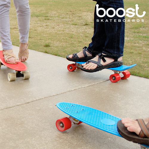 Skateboard Fish Boost (4 ruote)