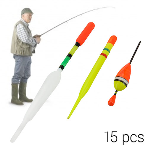 Set de Corchos de Pesca Adventure Goods (15 piezas)