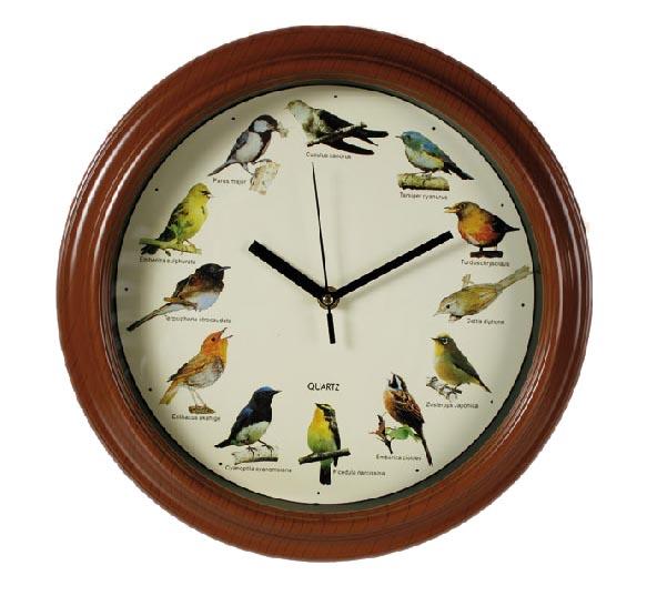 Stenska Ura s Ptičjim Petjem