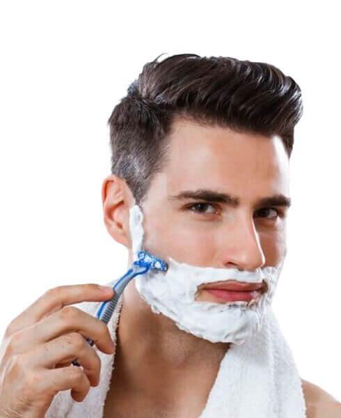 Barberingsskum og geler