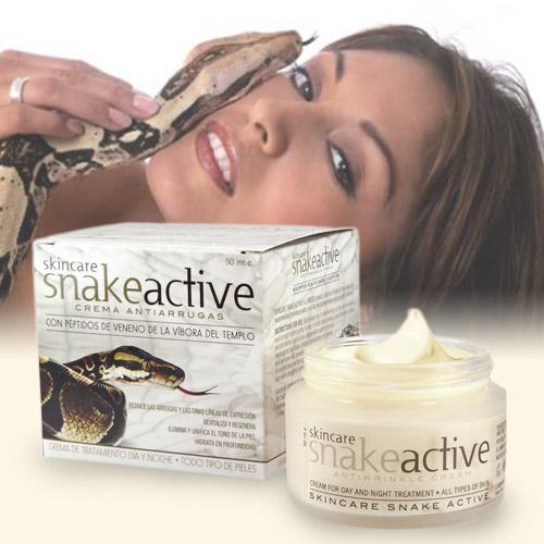 Crema Antiarrugas de Veneno de Serpiente