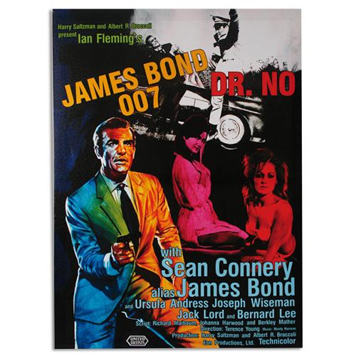 James Bond 007 Dr. No Slika na Platnu 50 x 70
