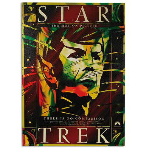 Cartel de Cine Star Trek Homania