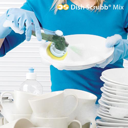 Set Za Čiščenje Posode Dish Scrubb Mix (5 kosov)