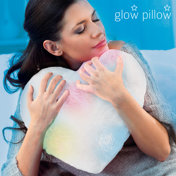 LED Blazina Srce Glow Pillow