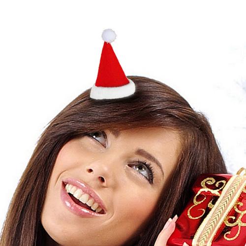 Fermacapelli Cappello di Babbo Natale