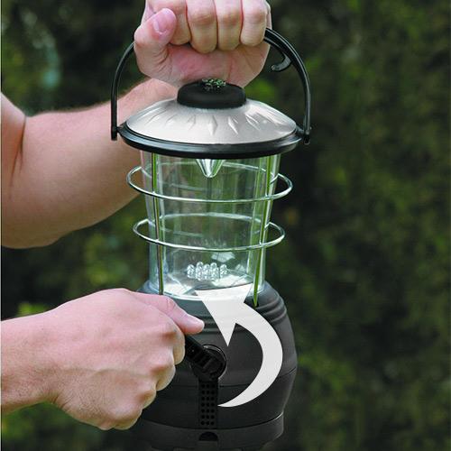 Svetilka Za Taborjenje Na Dinamo (12 LED Diod)