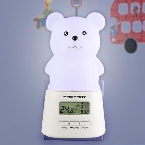 LED Svetilka S Časom Za Otroke TopCom KL4330
