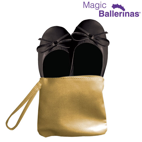 Magic Ballerinas Magic Flats Balerinke - Črna - M