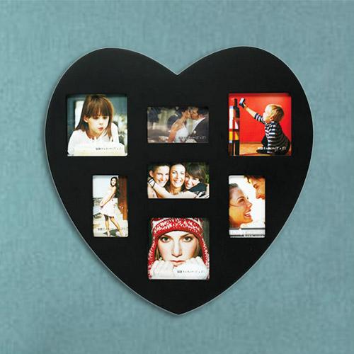 Držalo za Slike v Obliki Srca 7 Slik