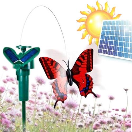 Vrtljivi metulji na sončne celice