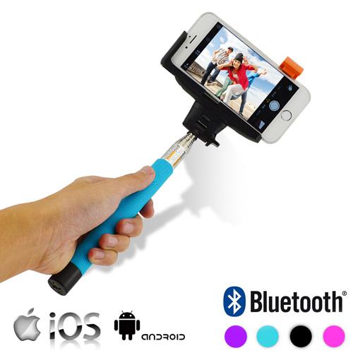Bluetooth Palica za Selfie za Mobilni Telefon  - Črna