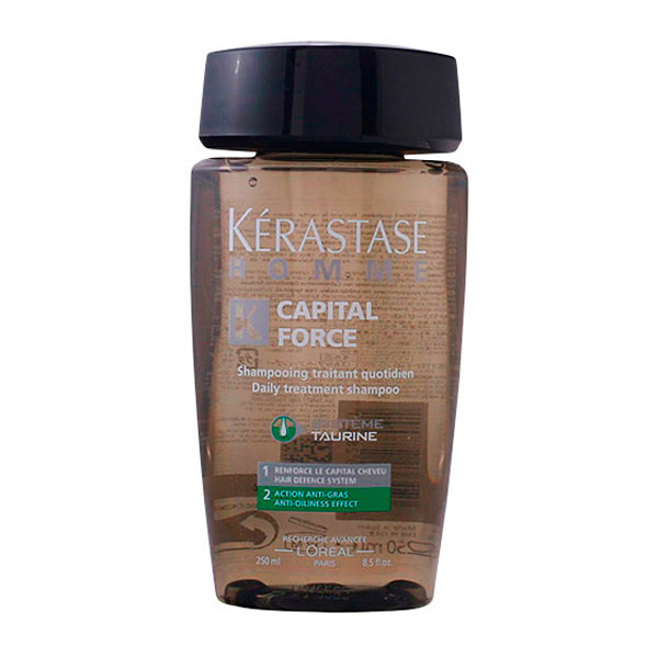 Kerastase - HOMME CAPITAL FORCE shampooing traitant quotidien 250 ml