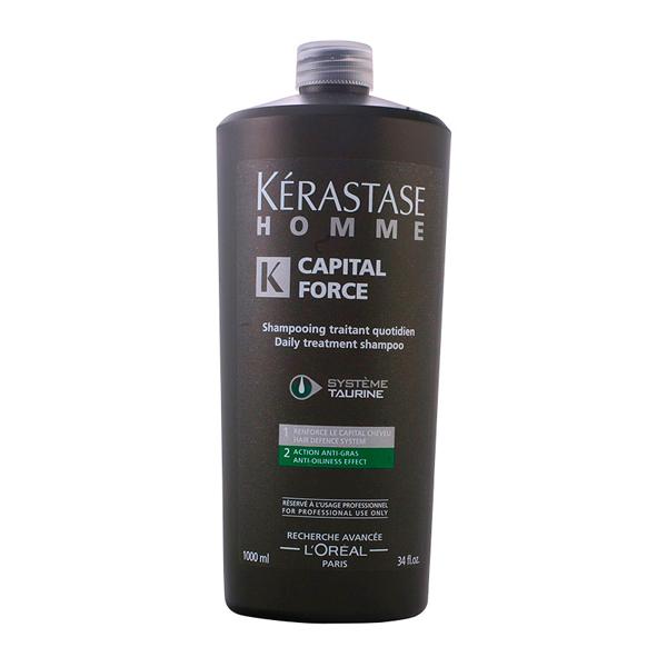 Kerastase - HOMME CAPITAL FORCE shampooing traitant quotidien 1000 ml