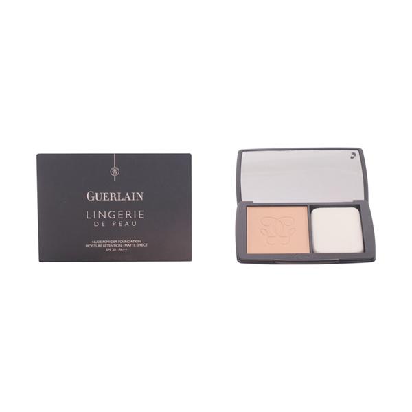 Guerlain - LINGERIE DE PEAU fdt compact poudre 02-beige clair 10 gr