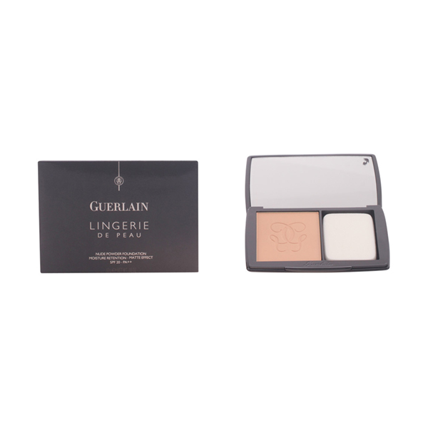 Guerlain - LINGERIE DE PEAU fdt compact poudre 03-beige naturel 10 gr