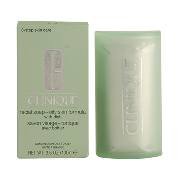 Clinique - FACIAL SOAP extra strength with dish oily skin 100 gr