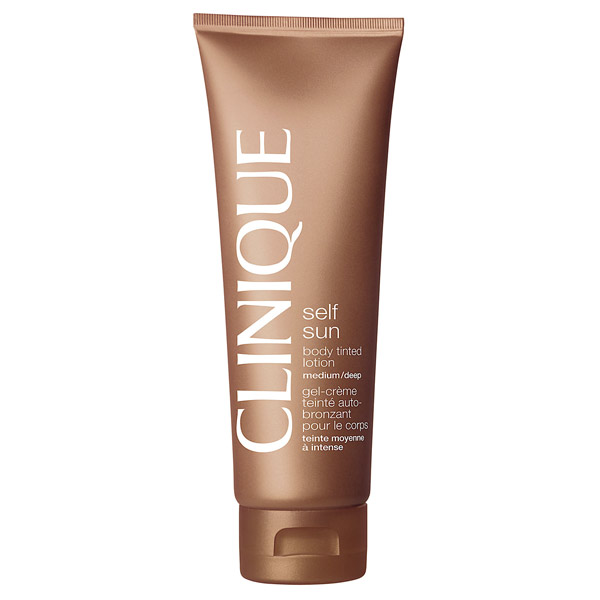 Clinique - SUN body tinted lotion light/medium 125 ml