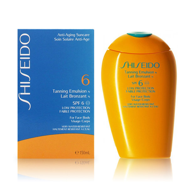 Shiseido_-_TANNING_emulsion_SPF6_150_ml