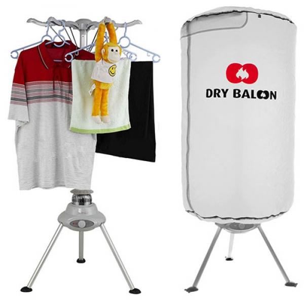 Prenosno Električno Stojalo za Sušenje Perila | Obešalnik Dry Baloon