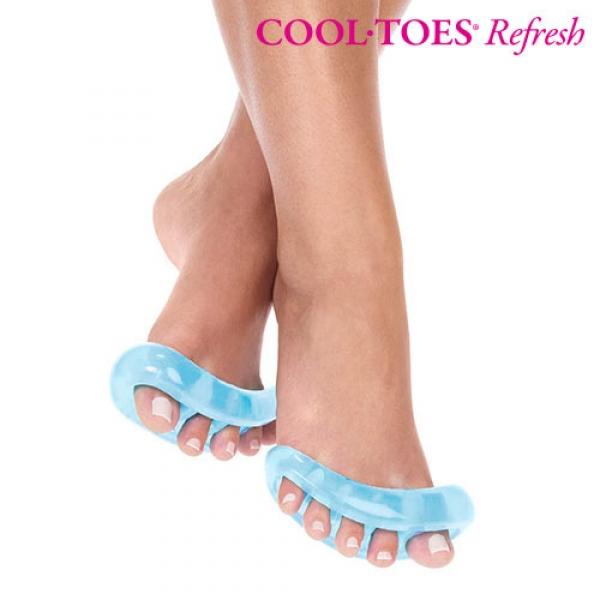 Silikonski Razdelilnik Prstov Cool Toes Refresh