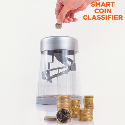 Smart Coin Classifier Digitalni Hranilnik za Razvrščanje Kovancev