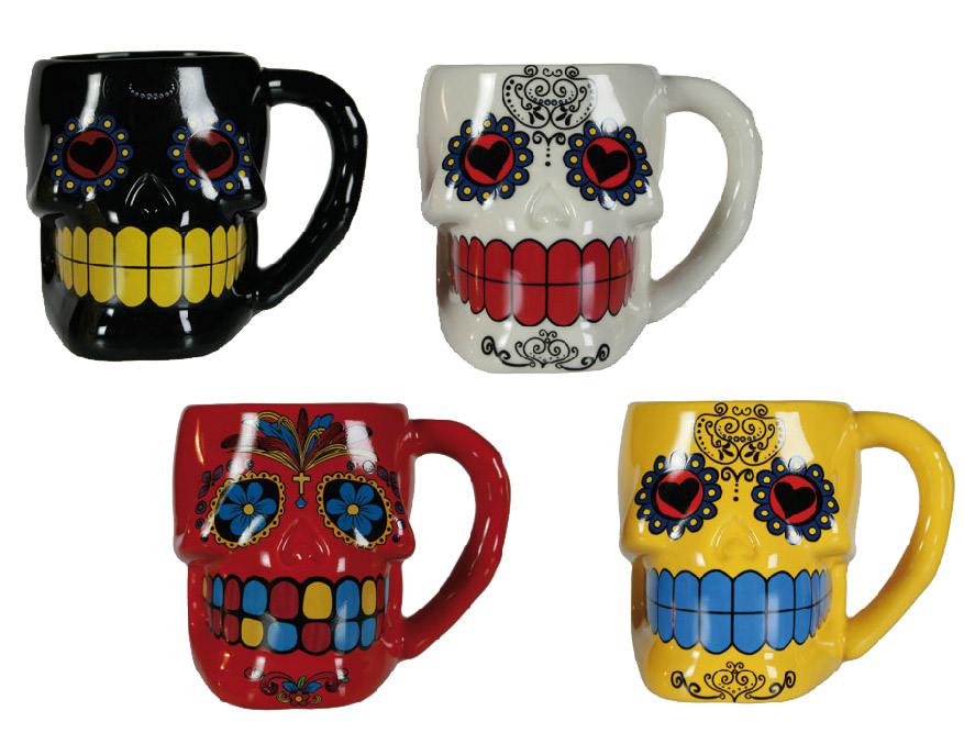 Taza Calavera Mexicana Gadget and Gifts