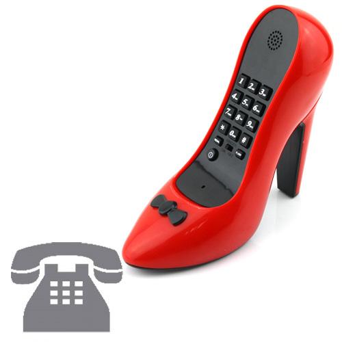 Telefon Čevelj z Visoko Peto - Roza